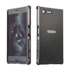 ซื้อ กรณี Mooncase สำหรับ Sony Xperia Xz พรีเมี่ยมโลหะอลูมิเนียมหรูหรากันชนถอดออกได้ คาร์บอนไฟเบอร์กลับยาก 2 ใน 1 ฝาครอบกรอบบางพิเศษ ตามที่แสดง นานาชาติ ออนไลน์