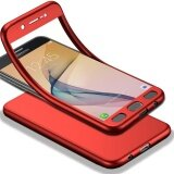 ขาย Mooncase Galaxy J7 Prime 2017 Full Body Case Shockproof Soft Tpu Matte Finish Slim Cover 2 In 1 Full Coverage Protection With Tempered Glass Screen Protector For Samsung Galaxy J7 Prime 2017 Red Intl Mooncase