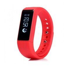 Moov นาฬิกาข้อมืออัจฉริยะ รุ่น i5 Plus (สีแดง)