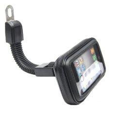 ขาย Motorcycle Phone Holder Rearview Mirror Mount Mobile Phone Holderwaterproof Case Bag For Universal Phones Size M Intl ถูก