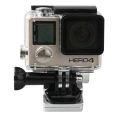 ซื้อ Motorcycle Rearview Mirror Cnc Aluminum Alloy Stent Fixed Bracket Holder For Gopro Hero4 3 3 Xiaomi Xiaoyi Sjcam Camera Silver Intl Unbranded Generic