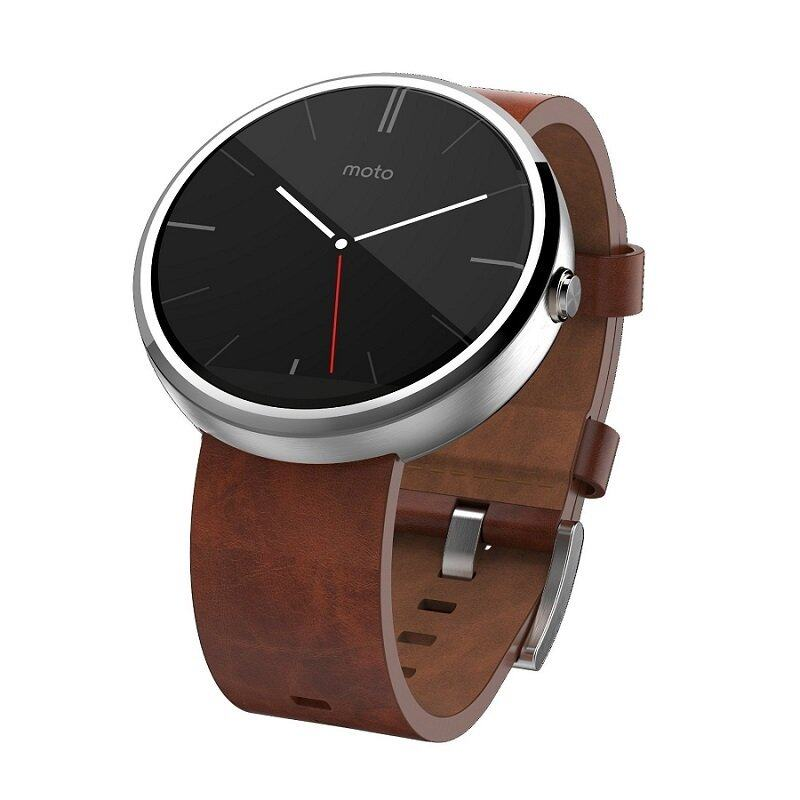 Motorola Moto 360 Cognas Leather 46MM SmartWatch