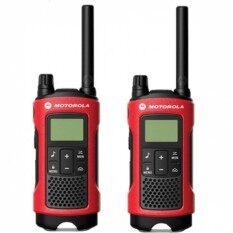 Motorola วิทยุสื่อสาร Talkabout T246 แพ็คคู่ ของแท้ ถูกกฎหมาย พร้อมแบตเตอรี่