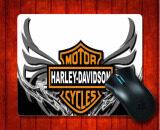 ซื้อ แผ่นรองเมาส์ Harley Davidson Logo Wallpapers Background สำหรับแผ่นรองเม้าส์ 240 200 3 มิลลิเมตรเมาส์สำหรับเล่นเกม นานาชาติ ถูก จีน