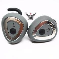 หูฟัง Moxpad M6 Bluetooth ไร้สาย มาพร้อมกล่องชาร์ต กันเหงื่อ ประกันศูนย์ไทย