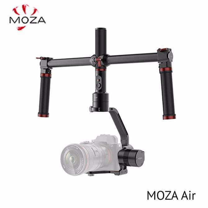 MOZA Air 3-Axis Handheld Gimbal Camera Stabilizer+Dual Handle Set For Mirrorless Cameras and most DSLRs,Sony A7SII,Panasonic GH5,Canon EOS 5D Mark IV,BMPCC,Support Cameras Weights between 1.1Lb-5.5Lb