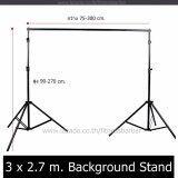 Mr Home โครงฉากถ่ายภาพ ขาตั้งฉากถ่ายรูป Background Stand ปรับความกว้าง ความสูงได้ 3X2 7 เมตร Mr Home ถูก ใน ไทย