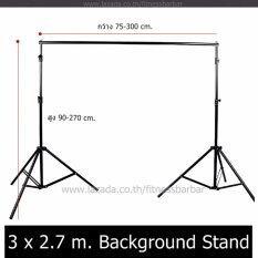 ส่วนลด Mr Home โครงฉากถ่ายภาพ ขาตั้งฉากถ่ายรูป Background Stand ปรับความกว้าง ความสูงได้ 3X2 7 เมตร Mr Home ไทย