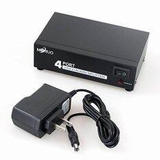 ขาย ซื้อ Mt Viki4 Port 1 In 4 Out 3 Rca Av Audio Video Splitter Amplifier For Cable Box Dvd Dvr Analog Tv Intl