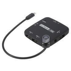 ราคา Multi In 1 Micro Usb Hub Host Adapter Otg Cable Card Reader Usb 2 Support For Usb Otg Compatible Devices Smartphones Tablet Pc Intl ใหม่ล่าสุด