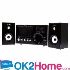 ขาย ซื้อ ออนไลน์ Music D J ลำโพง 2 1 พร้อมซัฟวูฟเฟอร์ Fm รุ่น M 9100Ab สีดำ