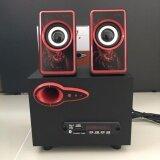 ราคา Music D J Sp 21 ตู้ลำโพงบลูทูธ Bluetooth Speaker 2 1 Ch รองรับ Aux Bt 8W 3W X 2 เป็นต้นฉบับ Music D J