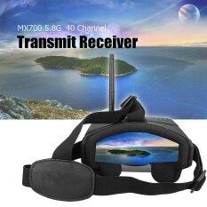 ซื้อ Mx700 5 8G 40 Channel Transmit Receiver Fpv Goggles Headset With 3 7V 2000Mah Intl Thailand