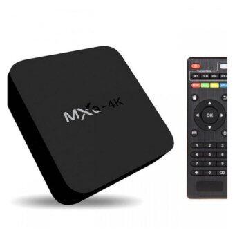 MXQ 4K Smart TV Box RK3229 KODI Fully Loaded H-265 4K 60fps Support NG-MXQ4K (Black)