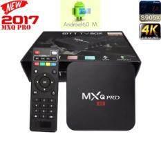 ขาย Mxq Pro Smart Box Android 6 Amlogic S905 4K Quad Core 64Bit 1Gb 8Gb By Egreat สีดำ Mxq เป็นต้นฉบับ