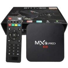 ราคา Mxq Pro Smart Box Android 6 Amlogic S905 4K Quad Core 64Bit 1Gb 8Gb By Egreat สีดำ เป็นต้นฉบับ Mxq
