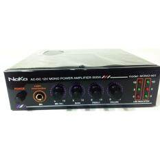 ทบทวน Naka Model 401 Mono Amplifier Ac220V Dc12V Naka