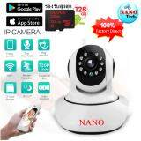ราคา Nanotech กล้องวงจรปิด 720P Ip Camera Wifi Wireless Hd Video Surveillance Security Camera P2P Ir Infrared Night Vision Cctv Camera Wi Fi Baby Monitor ใหม่