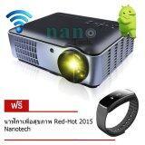 ทบทวน Nanotech โปรเจคเตอร์ Hd 2800 Lumens All In One รุ่น 806 สีดำ ฟรี นาฬิกาเพื่อสุขภาพ Red Hot 2015 สีดำ Nanotech