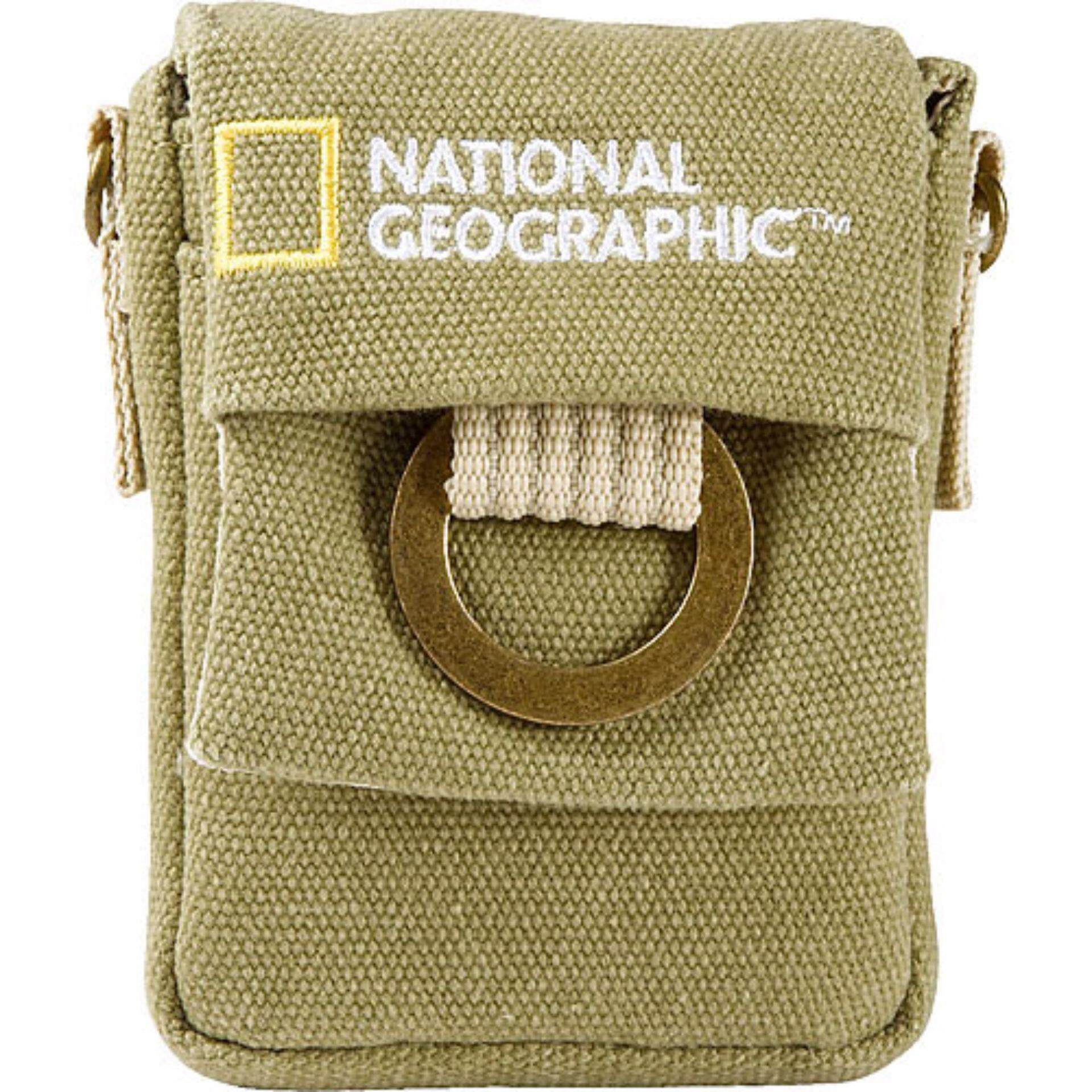 National Geographic NG 1147 Nano Camera Pouch For Small Digital Point and shoot Cameras ซองกระเป๋าสะพายไหล่สะพายข้างกล้องพ้อยแอนด์ชู้ต ซองคาดเอวกล้องพ้อยแอนด์ชู้ต กระเป๋าสะพายไหล่ข้างคาดเอวกล้อง Small Digital Point and shoot  กระเป๋ากล้อง อุปกรณ์เสริม