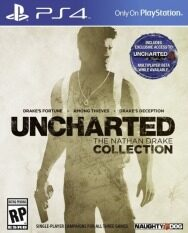 Naughty Dog Inc. PS4: Uncharted: The Nathan Drake Collection 3 Parts 1,2,3 (ENG)