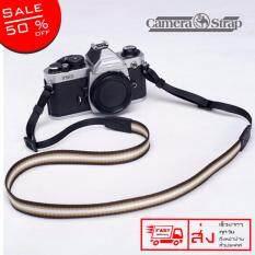 ND Camera Strap สายกล้องคล้องคอ สายคล้องกล้อง สายกล้อง Camera Strap  รุ่น 002