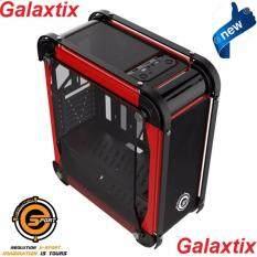 Neolution E-Sport Case Galaxtix(Red) เคสคอมพิวเตอร์รุ่นใหม่ที่คอเกมส์ไม่ควรพลาดรุ่น Galaxtix (รองรับชุดน้ำ)รับประกันศูนย์ Neolution E-Sport  1 ปี