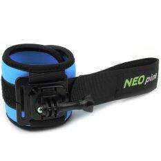 โปรโมชั่น Neopine Sports Diving Wrist Strap Mount Stabilizer 360 Degree Rotation For Gopro Hero4 3 3 2 1 Blue Neopine