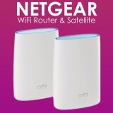 ราคา Netgear Orbi Home Wifi System Up To 5000Sqft Ac3000 Tri Band Wifi Rbk50 By Netgear Wifi Router Satellite Intl ถูก