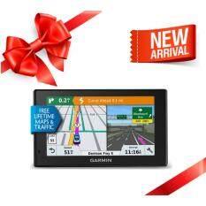 ซื้อ New Arrival Garmin Gps Drivesmart 51 Navigator การ์มิน เนวิเกเตอร์ อุปกรณ์นำทางด้วย Gps พร้อมระบบแจ้งเตือนการขับขี่ อัพแผนที่ฟรีตลอดชีพ มีใบกำกับภาษี