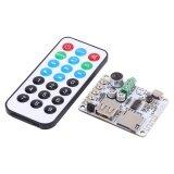 ขาย New Bluetooth Audio Receiver Microphone Amplifier Usb Tf Fm Mp3 Decoder Wma Wav Flac Player 1 Intl ใน จีน