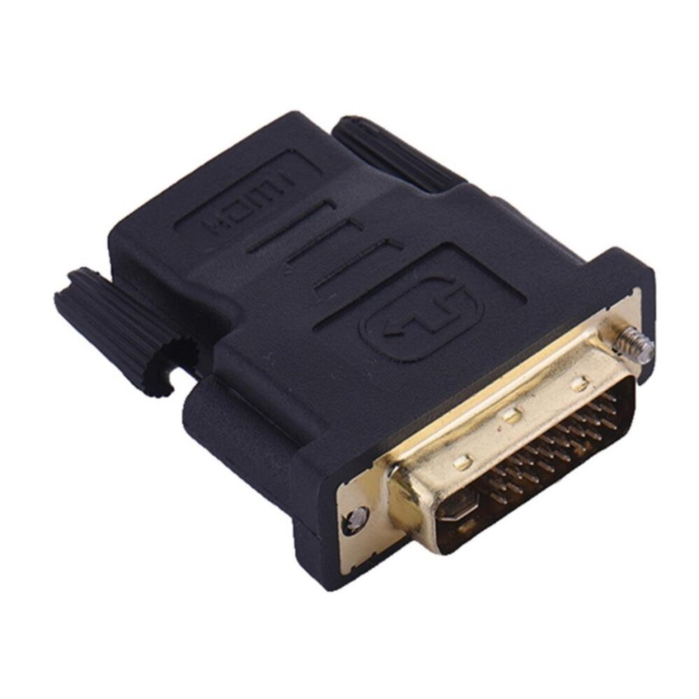 New DVI 24+5 Male to HDMI Female Converter Gold Plated Adapter Converte 1080P for HDTV LCD DVI-I