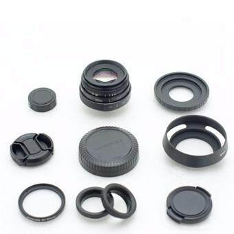 New Fujian 35mm f/1.6 CCTV Lens for Canon EOS M (Black