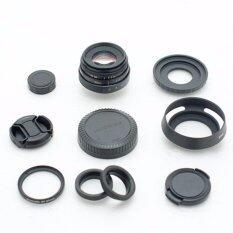 New Fujian 35mm F/1.6 Cctv Lens For M4/3 Mount For Olympus And Panasonic Mirrorless (black).