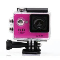กล้องกันน้ำ/กันกระแทก  New  HD 12MP Full HD 1080Pเลนส์  2.0 Action Camera Full Inch LCD Screen Sport DV Camera