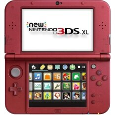 New Nintendo 3ds XL US Version (Red)