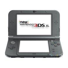 New Nintendo 3DS XL USA Metallic - Black