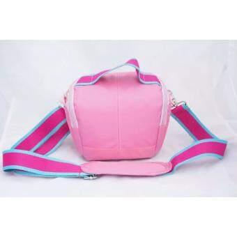ซื้อที่ไหน NEW Pink Waterproof Camera Case Bag For Canon EOS M10 M3 M2 M 100D