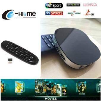 TV BOX T758Q+Air mouse C120 Set Amlogic Android 6.0 box Quad core 2.4G Wifiกล่องดิจิทัลทีวี กล่องแปลงสัญญาทีวีดิจิทัล ระบบแอนดรอย
