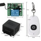 ราคา New Universal Wireless Dc 12V 10A 315Mhz 433Mhz Remote Control Switch Transmitter Wireless Remote Control Receiver Intl ใหม่