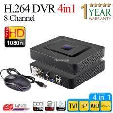 เครื่องบันทึกภาพ 8 ช่อง FULL HD 1080N , 720P / P2P / 4 IN 1 / Mode TVI , AHD , IP , Analog Support Nvizion/ Dahua/ Hikvision/ Watashi/ Fujiko/ Belko/ Bosch/ AVTech/ Panasonic/ Amorn/ Longse