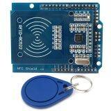 Nfc โล่ Rfid Rc522 Rf Ic เซนเซอร์ S50 Rfid บัตรสมาร์ทสำหรับ Arduino Uno Mega2560 ใน ฮ่องกง