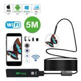 ราคา Niceeshop 5M Waterproof Wireless Endoscope Wifi Borescope Inspection Camera 2 Megapixels Hd 8 Led Light Snake Camera For Android And Ios Smartphone Intl Niceeshop ออนไลน์