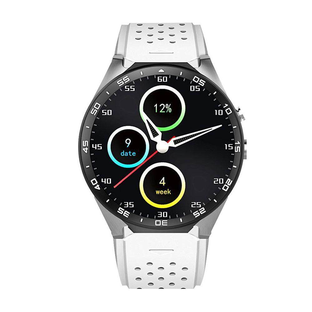 niceEshop KW88 3G WIFI Smartwatch Cell Phone All-in-One Bluetooth Smart Watch Android 5.1 SIM Card With GPS,Camera,Heart Rate Monitor,Google Map, Google Play – intl