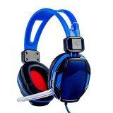 ราคา Niceeshop Soyto 833 3 5Mm Game Gaming Headphone Headset Earphone Headband With Mic For Pc Blue Intl ใหม่