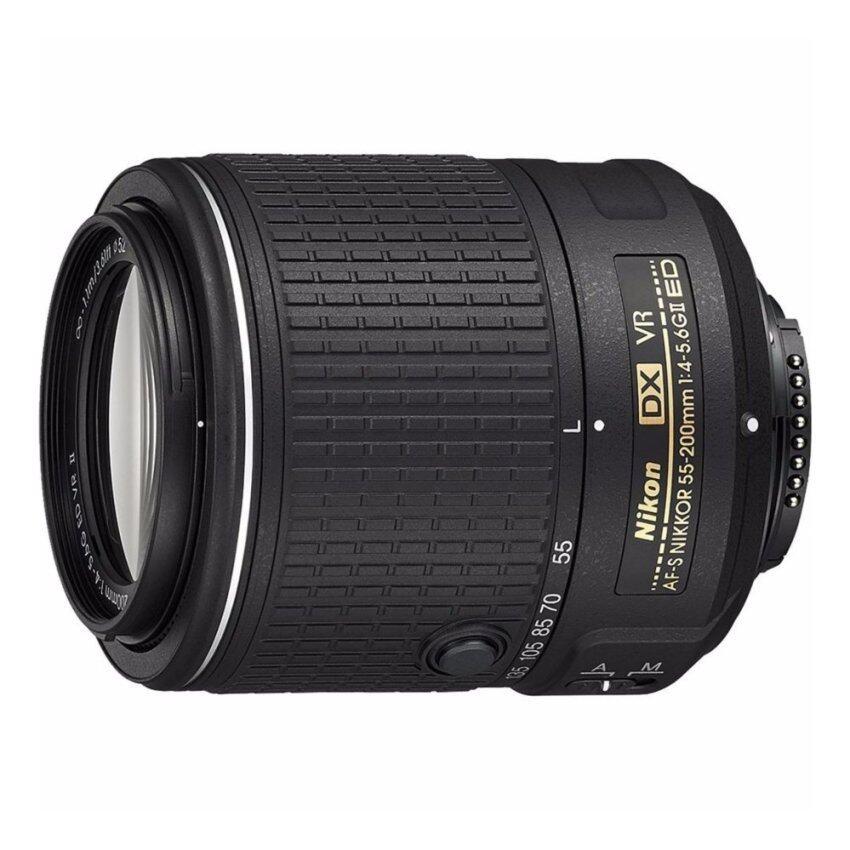 ขาย Nikon Af S Dx Nikkor 55 200 มิลลิเมตร F 4 5 6 กรัม Ed Vr Ii เลนส์ ใหม่