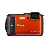 ขาย ซื้อ Nikon กล้องดิจิทัล Coolpix Aw130 สีส้ม ใน ไทย