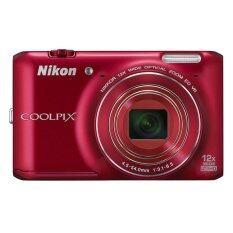 Nikon Coolpix S6400 Red เป็นต้นฉบับ