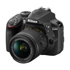 Nikon D3400 Black 18-55 Vr Ii Kit (ประกันศูนย์).