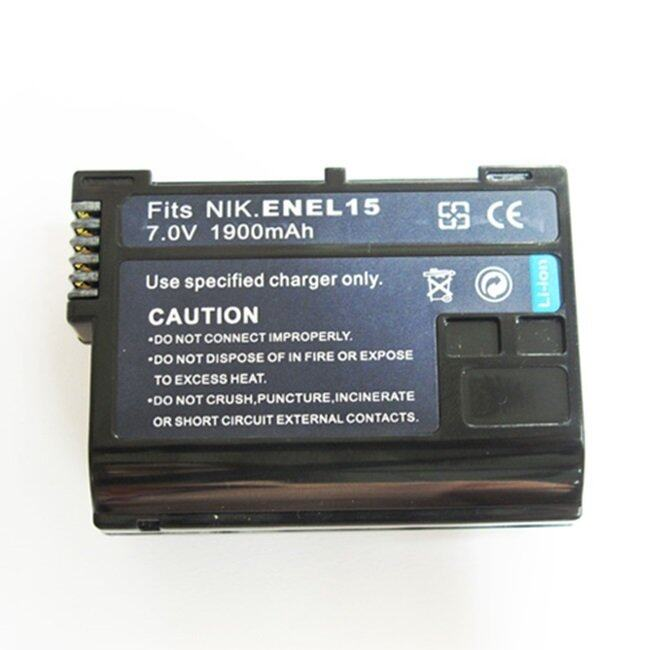 Battery Man Nikon Digital Camera Battery EN-EL15 (Black)